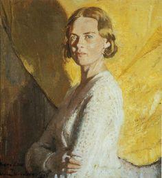 .:.William Nicholson, Portrait of Diana Low, 1933