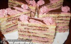 Gyümölcsös-csokis vienetta szelet recept fotóval Krispie Treats, Rice Krispies, Vanilla Cake, Tiramisu, Ethnic Recipes, Desserts, Food, Tailgate Desserts, Deserts