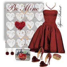 """Valentine 11 - #2463"" by lynnspinterest on Polyvore"