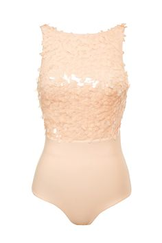 1cefab02c7 Clothing   Bodysuits    Luciella  Peach Sequin Bodysuit Sequin Tank Tops