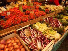 Campo di Fiore, Roma Bazaars, Shrimp, Meat, Rome, Pictures