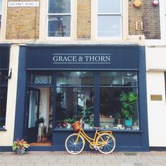 Grace and Thorn Flowers   London florist   Hackney flowers   Dalston - want to go here