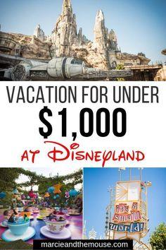 How to Do Disneyland on a Budget Disneyland Tickets, Disneyland Vacation, Disneyland Tips, Disney Vacation Planning, Family Vacation Destinations, Disney World Vacation, Disney Vacations, Disney Travel, Disney Land