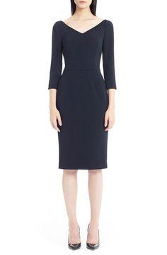 Dolce&Gabbana V-Neck Cady Dress