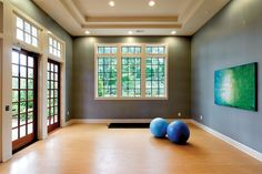 Yoga studio at The Residences at Vinings Mountain