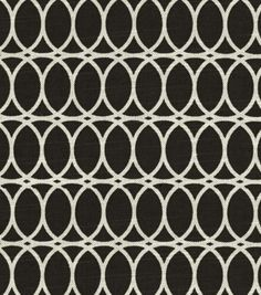 """HGTV Home in """"Curl Up Onyx"""" (~$18 per yard)- 100% cotton fabric for DIY woven wrap"""