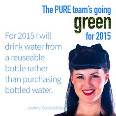 A great tip on reducing the use of plastic for another of our green resolution for this year.
