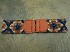 Sister Moses Beaded Stretch Belt. Great colors at a great price!! $48