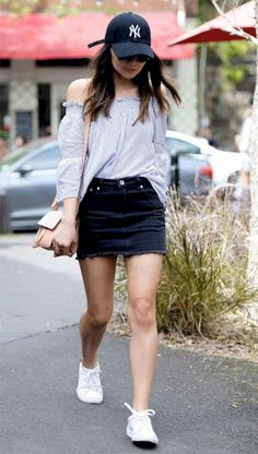 9ec8a8c7f30 fine 35 Denim Skirt Outfits That Will Make You Become A Headturner https