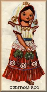 Folklorico costumes of Mexico