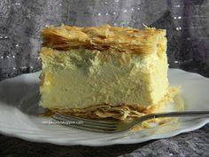 Wiem, co zjem...!: Kremówka - najlepsza na świecie :) Food Cakes, Vanilla Cake, Cakes And More, Cake Recipes, Cooking, Pies, Kuchen, Cakes, Kitchen
