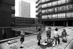 This is England. Council estate, space hopper