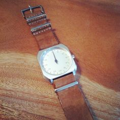 My watch: Slow Mo 08 with custom nato strap by Goriani on etsy.