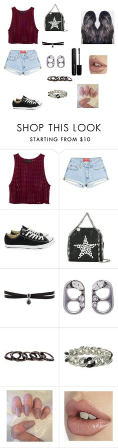 """Idk"" by ktbspa-and-loveislove on Polyvore featuring moda, Converse, STELLA McCARTNEY, Fallon, Marc Jacobs, Free Press y David Yurman"