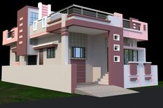 Siddhi building elevation, house elevation, home design, modern house design, front House Outer Design, House Main Gates Design, Single Floor House Design, House Outside Design, Modern House Design, Front Design, Dream House Plans, Modern House Plans, Exterior House Colors