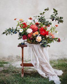Florals: Marina Shentyapina | Photography: Dmitry Shentyapin |