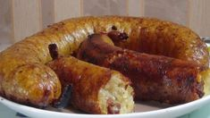 Bramborové klobásy vám ukážou, že to jde i bez masa Slovak Recipes, Kefir, Food To Make, Sausage, Food And Drink, Cooking Recipes, Potatoes, Homemade, Baking