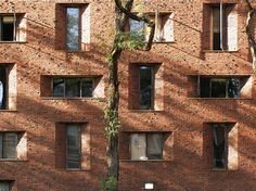 Eero Saarinen, Hill Hall women's dormitories, University of Pennsylvania, Philadelphia, 1957-60