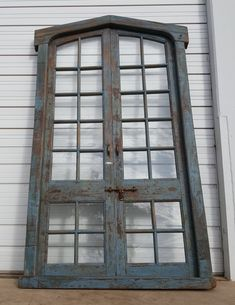 Pair of Wood and Glass Doors Dimensions are 106 High x 60 Wide Window Design, Door Design, House Design, Exterior Design, Antique French Doors, French Antiques, Vintage Doors, Design Your Home, Home Design Plans