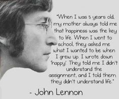 John Lennon you're my hero