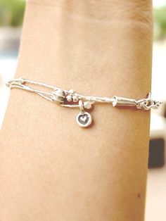 Chiang Mai Charm Bracelet - Heart