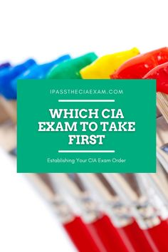 Did you know there are 3 parts to the CIA exam? Let us help you decide in which order you should take your exam to be successful!  #internalauditor #testprep
