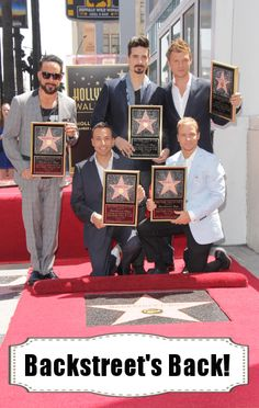 Backstreet Boys Summer 2013 Tour- we can't wait for them to come to Detroit!