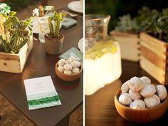 Fiesta themed table decor -- love the little cacti  #party #catus #decoration  laspalmassauces.com