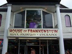 House of Frankenstein Wax Museum..  Lake George New York