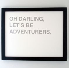 This saying makes me feel quite Tookish. ;)  From Fifiduvie on Etsy.