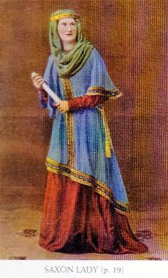 "Titled ""Saxon lady""."