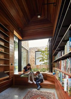 Image 23 Of 48 From Gallery Of Tower House / Austin Maynard Architects.  Photograph By Peter Bennetts