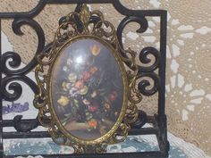 Flowered picture by Daysgonebytreasures on Etsy