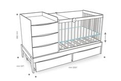 baby crib woodworking plans free 2