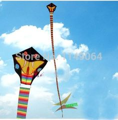 ==> [Free Shipping] Buy Best free shipping high quality 30m snake kite with kite tails handle line flying bird kite eagle kite animal kite toys hcxkite Online with LOWEST Price | 2011546648