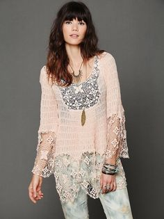 Free People Captured Dreams Tunic by oceanne gypsy