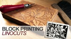 Learn how to create a linoleum block print in this tutorial. This enjoyable…