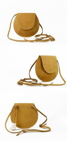 Leather Crossbody Bag-Yellow Small  Purse for Women- Stylish Designer Cross body Mini Messenger Bag- Best Quality Quarantee on Etsy, $169.99