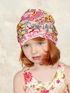 kenzo-kids-clothing-styles-for-summer-spring-2012 cutest hat for little girl!!
