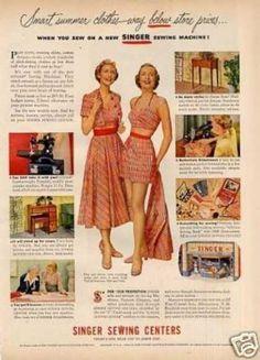 Singer Sewing Machine (1950)