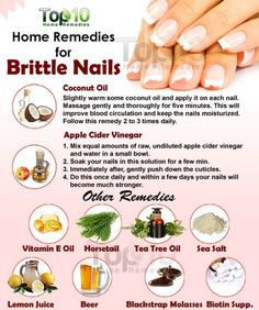 Everyone strives to have beautiful nails, but brittle nails can spoil the beauty Weak and brittle nails that can easily become cracked or chipped are a common problem affecting both men and women There are three main factors that cause brittle nail - n Beauty Care, Diy Beauty, Beauty Hacks, Homemade Beauty, Top 10 Home Remedies, Natural Remedies, Homeopathic Remedies, Brittle Nails, Manicure E Pedicure