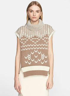 A Fair Isle knit sweater by Prabal Gurung