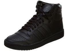 Adidas Top Ten Hi Mens C75323 Black Athletic Shoes High Casual Sneakers Size 9.5