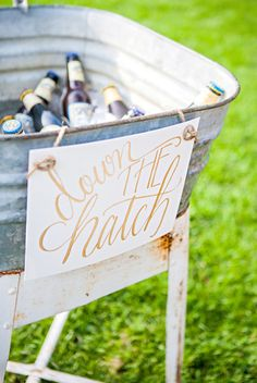 Style Me Pretty | Gilded Nautical Engagement Party Photography: Threaded Together Photography - www.threadedtogetherblog.com  Read More: http://www.stylemepretty.com/2014/09/12/gilded-nautical-engagement-party-inspiration/