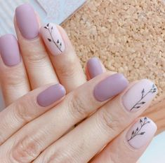 3 8 4 votes Matte nails are so trendy this year And they are so cute and gorgeous Check out some of our favorite looks for matte nail art that we are sure you will love Diatsy World wishes you and your loved ones a happy year We'll be tog - # Matte Nail Art, Cute Acrylic Nails, Cute Nails, Pretty Nails, My Nails, Long Nails, Cute Nail Colors, Nail Polish Colors, Neutral Nails