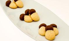 Biscotti funghetto con cacao