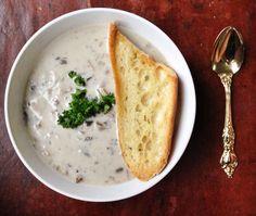 Jillian Harris's Easy Mushroom Soup http://www.wnetwork.com/food/jillian-harriss-easy-mushroom-soup