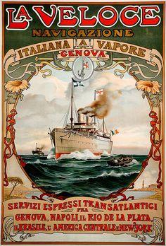 1889 ... espressi transatlantici