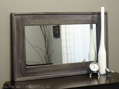 Barnwood Framed Bathroom Mirrors 15x12 reclaimed rustic barn wood frame mirror