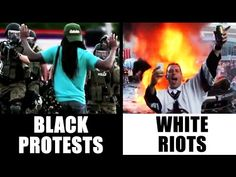 Why Charleston Shooter Isn't Being Called A Terrorist: White Riots vs Bl...